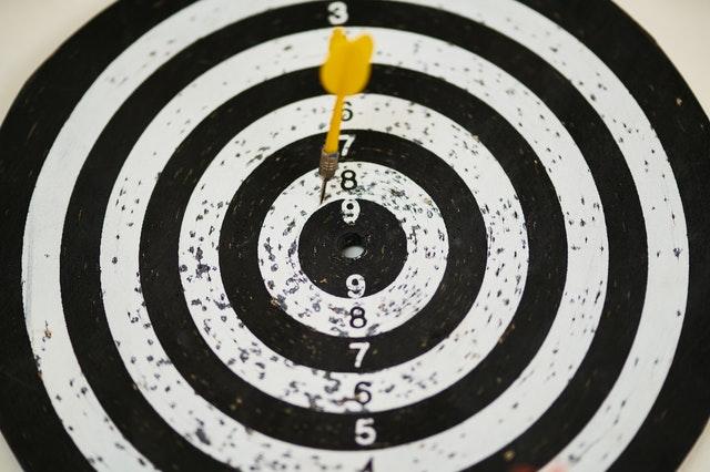 Crie metas claras e objetivas